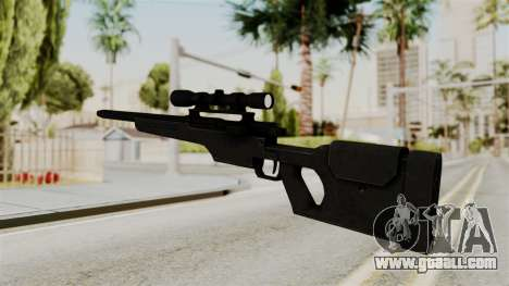 Rifle from RE6 for GTA San Andreas second screenshot