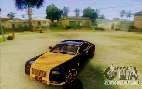 Rolls-Royce Ghost Mansory for GTA San Andreas left view
