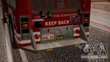 GTA 5 MTL Firetruck IVF for GTA San Andreas bottom view