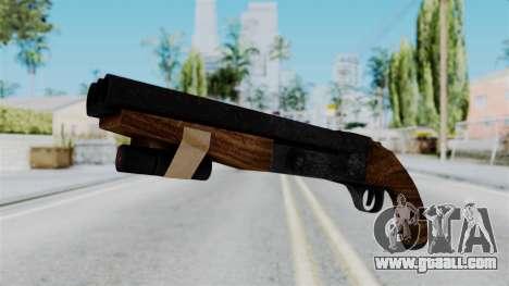 Sawnoff Shotgun from RE6 for GTA San Andreas