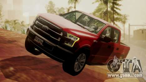 Ford F-150 2015 Stock for GTA San Andreas