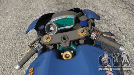 GTA 5 Ducati Desmosedici RR 2012 rear right side view