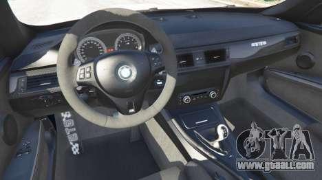 GTA 5 BMW M3 GTS rear right side view