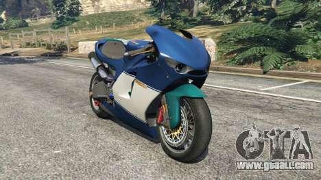 Ducati Desmosedici RR 2012 for GTA 5
