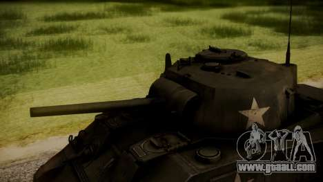 M4A3 Sherman for GTA San Andreas right view