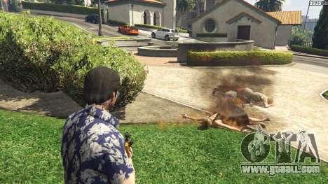 GTA 5 Flamethrower for GTA 5 third screenshot