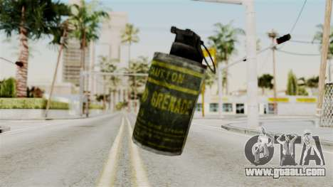 Grenade from RE6 for GTA San Andreas second screenshot