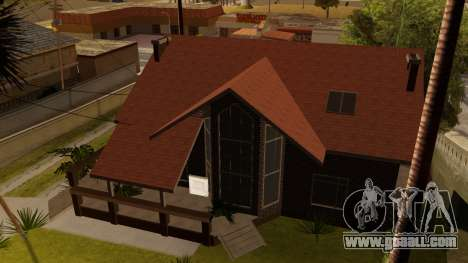 New Ryder House for GTA San Andreas forth screenshot