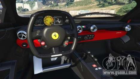 GTA 5 Ferrari FXX-K 2015 steering wheel
