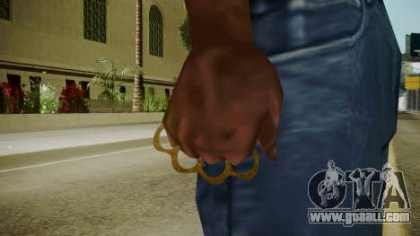 Atmosphere Brass Knuckles v4.3 for GTA San Andreas third screenshot