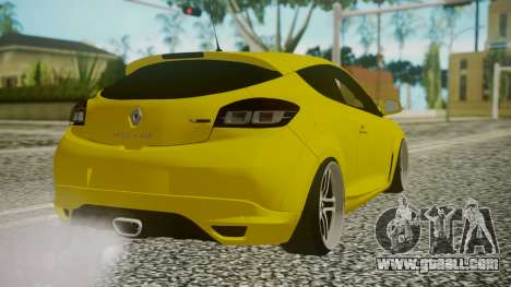 Renault Megane RS for GTA San Andreas left view