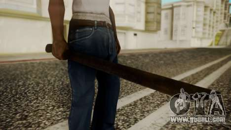 Machete from Friday the 13th Movie for GTA San Andreas
