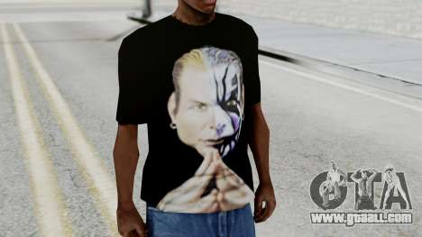Jeff Hardy Shirt v3 for GTA San Andreas second screenshot