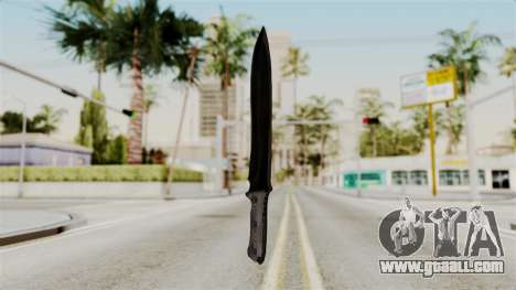 Knife from RE6 for GTA San Andreas second screenshot