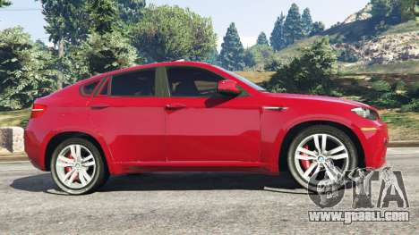 GTA 5 BMW X6 M (E71) left side view