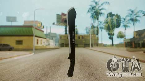 GTA 5 Machete (From Lowider DLC) for GTA San Andreas