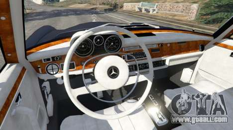 GTA 5 Mercedes-Benz 300SEL 6.3 v1.2.3 right side view