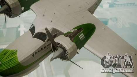 Grumman G-21 Goose DQAYL for GTA San Andreas right view