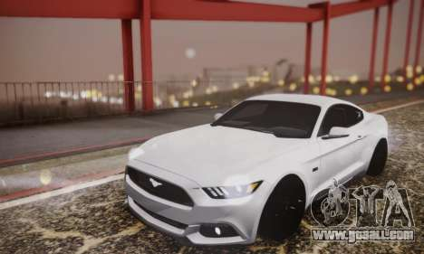 Ford Mustang GT 2015 Stock for GTA San Andreas side view