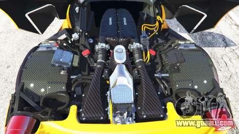 GTA 5 Ferrari LaFerrari 2015 back view