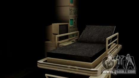 GTA 5 Brute Ambulance IVF for GTA San Andreas inner view