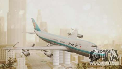 Boeing 747-100 All Nippon Airways for GTA San Andreas