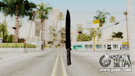 Knife from RE6 for GTA San Andreas