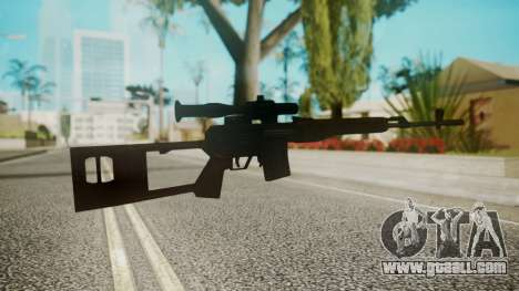 Sniper Rifle by EmiKiller for GTA San Andreas second screenshot