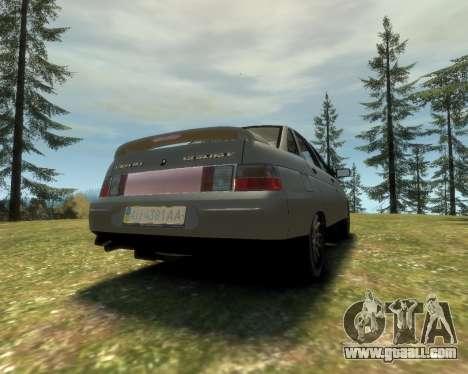 VAZ 21103 v1.1 for GTA 4 left view