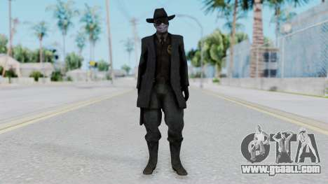 SkullFace Mask and Hat for GTA San Andreas second screenshot