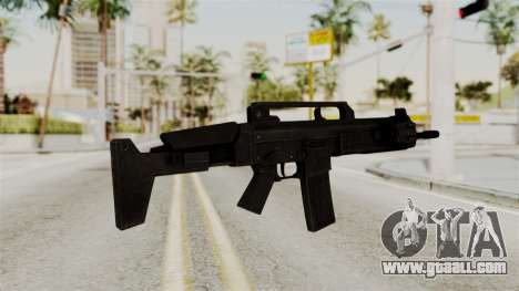 M4 from RE6 for GTA San Andreas second screenshot