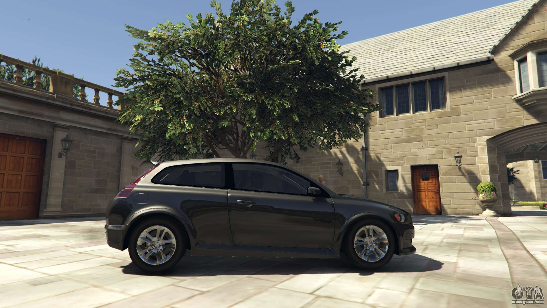 Unmarked Police Car Gta 5 - Gta 5 volvo c30 unmarked police left side view