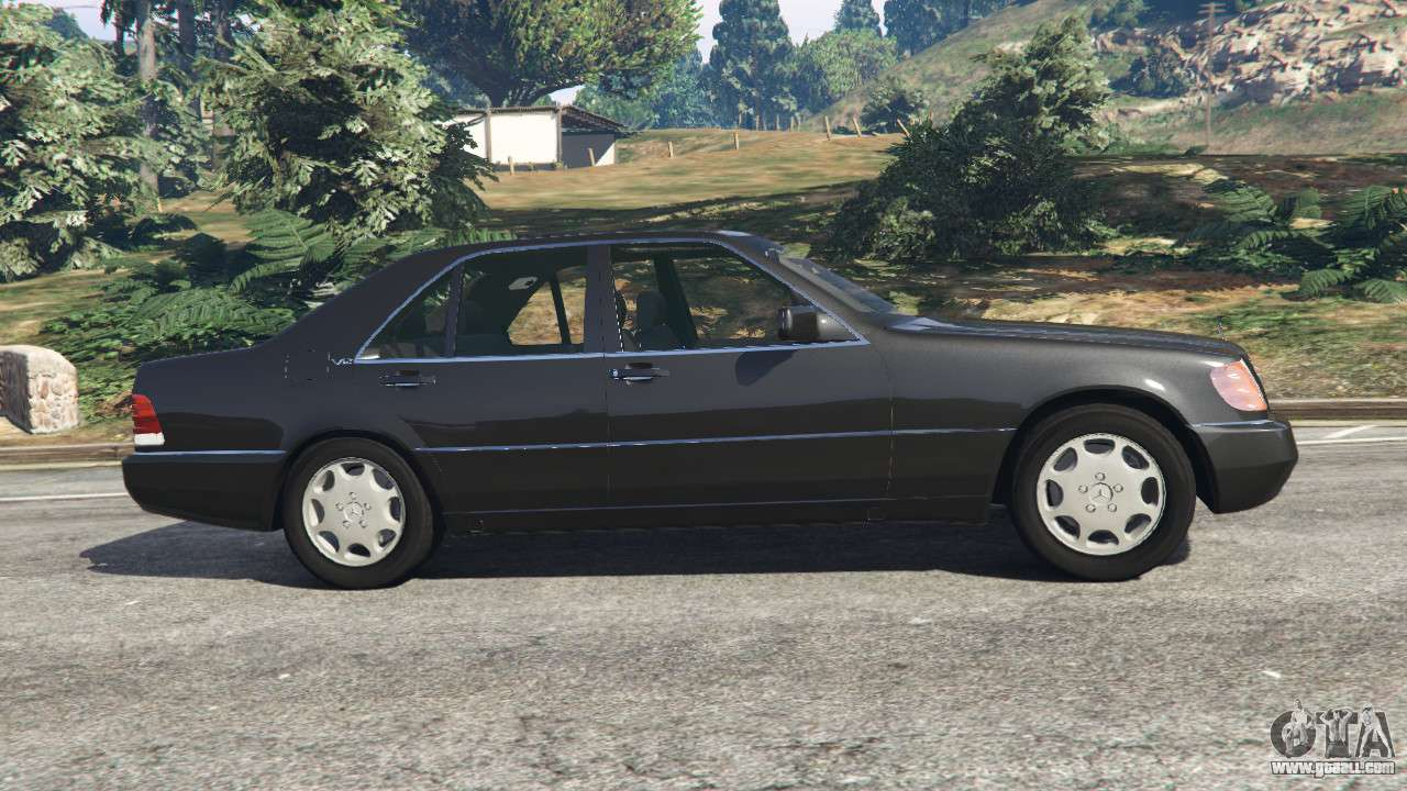 mercedes benz s600 w140 for gta 5. Black Bedroom Furniture Sets. Home Design Ideas