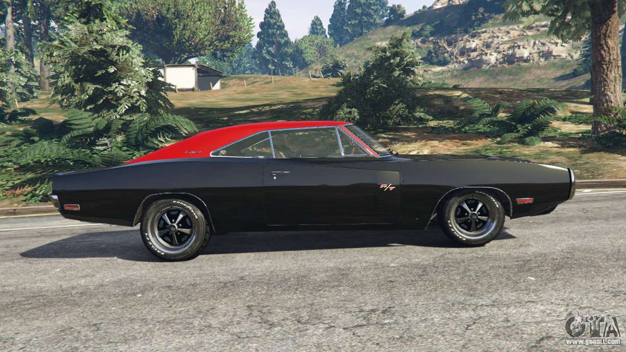 dodge charger rt 1970 v3 1 for gta 5. Black Bedroom Furniture Sets. Home Design Ideas