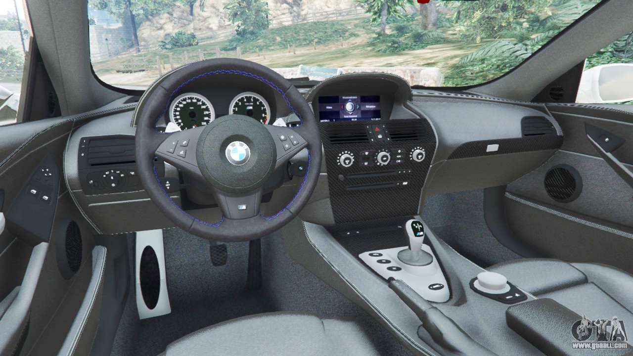 BMW M6 (E63) WideBody v0.1 [Volk Racing Wheel] for GTA 5 Ubermacht Zion Cabrio Gta 5