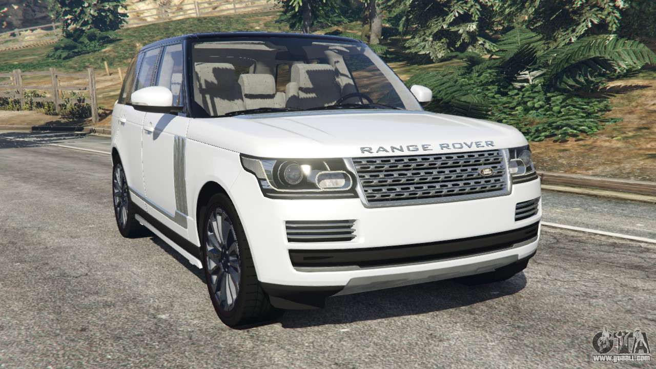 range rover vogue 2013 v1 2 for gta 5. Black Bedroom Furniture Sets. Home Design Ideas
