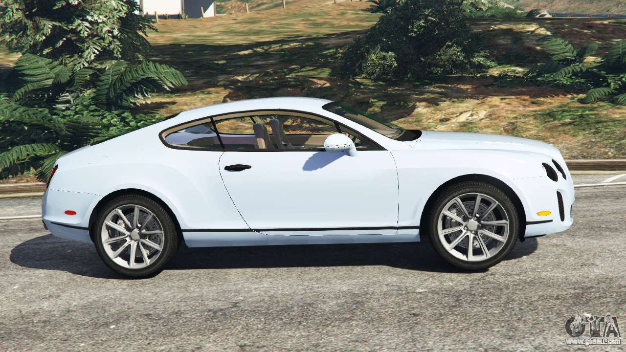 bentley continental supersports beta for gta 5. Black Bedroom Furniture Sets. Home Design Ideas