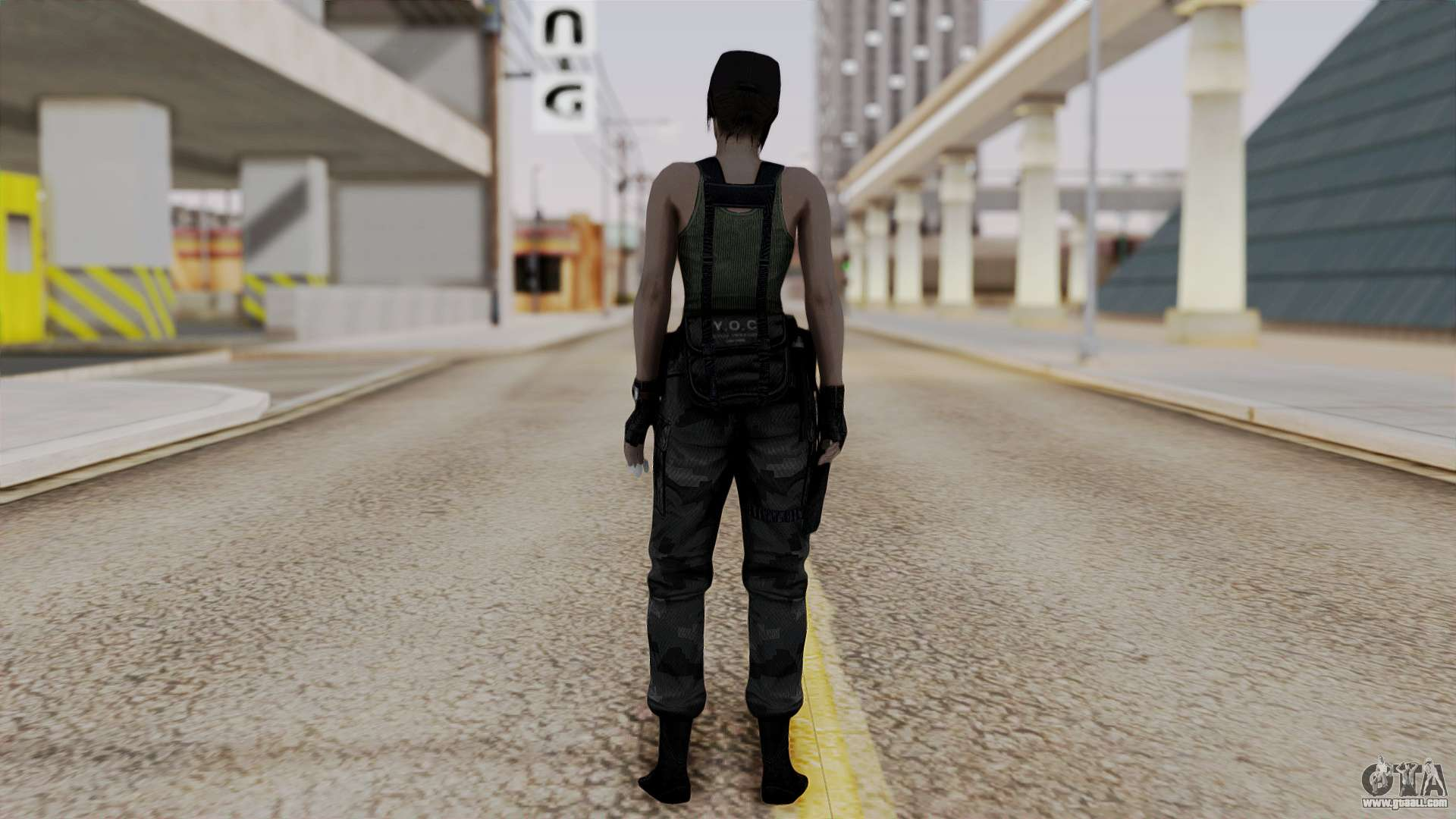 Resident Evil Remake HD - Jill Valentine (Army) for GTA San Andreas