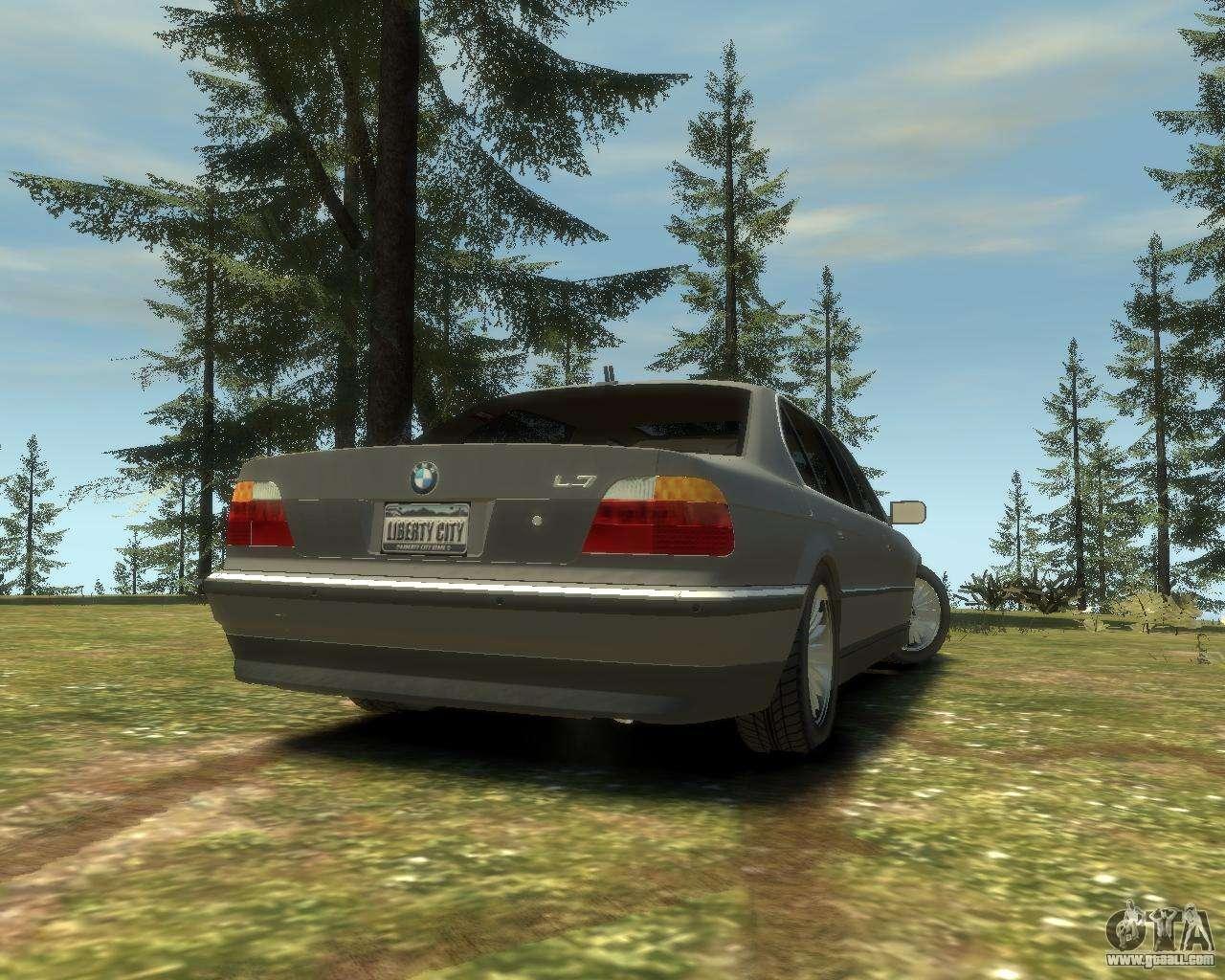 BMW L7 (750IL E38) 2001 for GTA 4