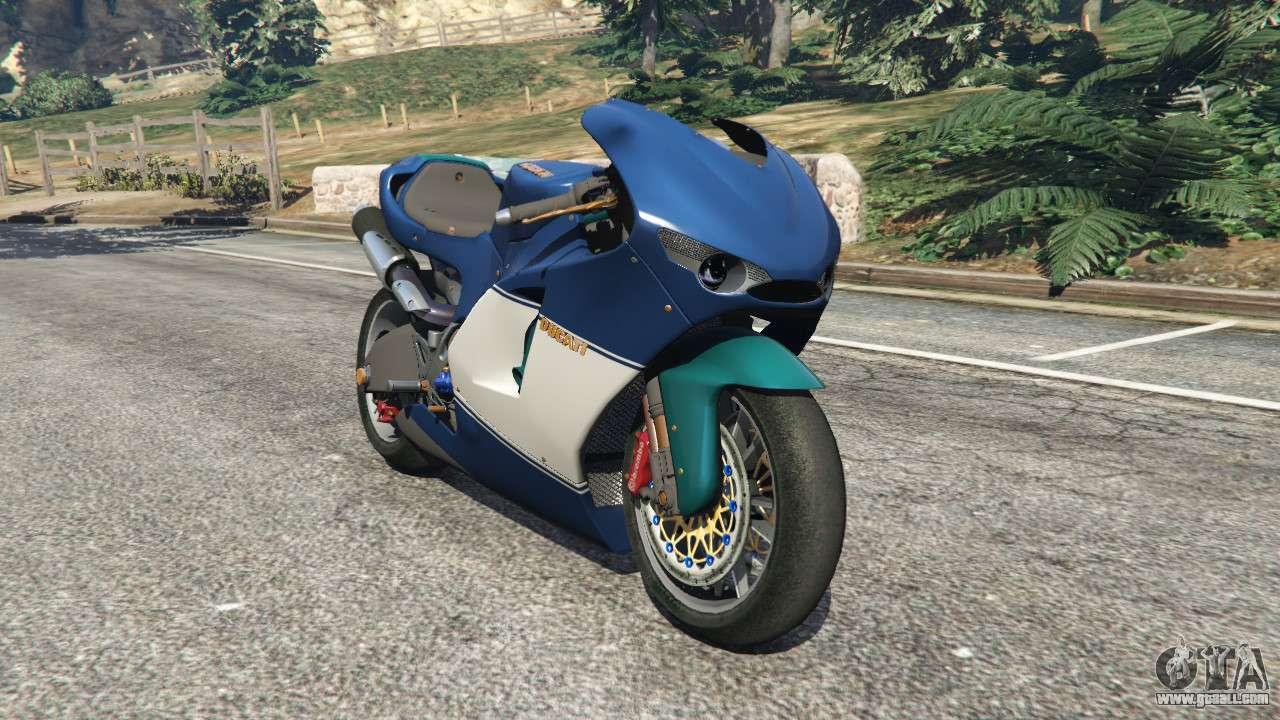 Как сделать мотоцикл в гта 5 787