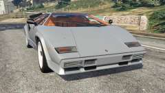 Lamborghini Countach LP500 QV 1988 v1.2 for GTA 5