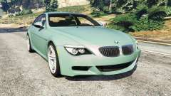 BMW M6 (E63) Tunable for GTA 5