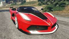 Ferrari FXX-K 2015 for GTA 5