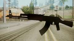 Atmosphere AK-47 v4.3 for GTA San Andreas