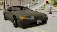 Elegy The Gold Car 1 for GTA San Andreas