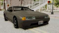 Elegy The Gold Car 1 for GTA San Andreas