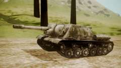 ISU-152 Snow from World of Tanks