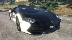 Lamborghini Aventador LP700-4 Police v4.0