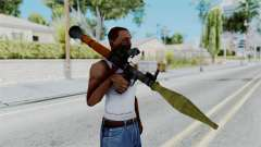 Rocket Launcher from RE6 for GTA San Andreas