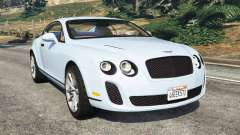 Bentley Continental Supersports [Beta] for GTA 5